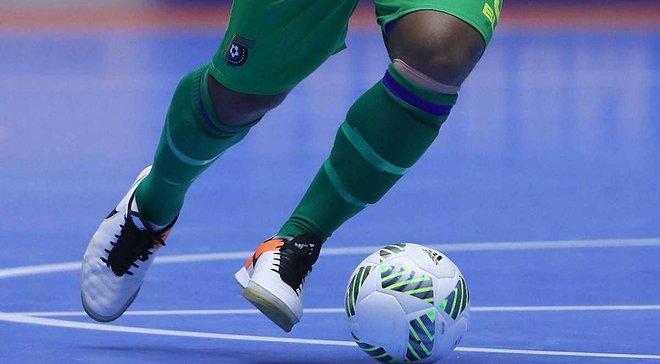 Шикарный гол забил игрок в чемпионате по футзалу в Украине
