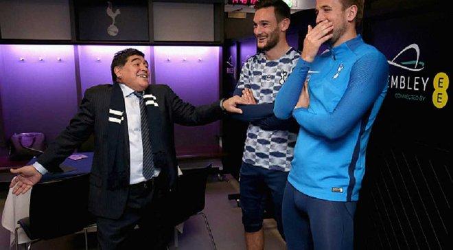 Марадона дал совет Кейну, посетив раздевалку Тоттенхэма