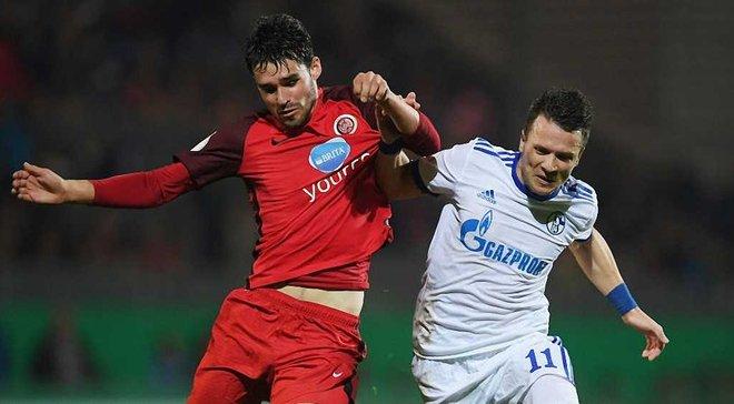 Коноплянка помог Шальке обыграть Вехен в Кубке Германии