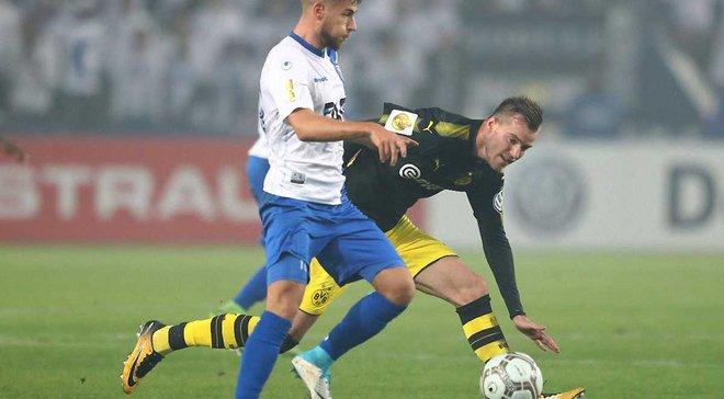 Ярмоленко забил гол, Боруссия Д вышла в 1/8 Кубка Германии, разгромив Магдебург