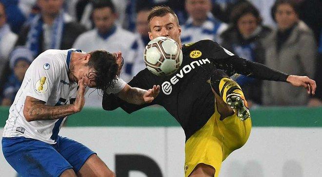 Топ-новости: Ярмоленко забил за Боруссию в Кубке Германии, Коноплянка помог Шальке, Зинченко дебютировал за Манчестер Сити