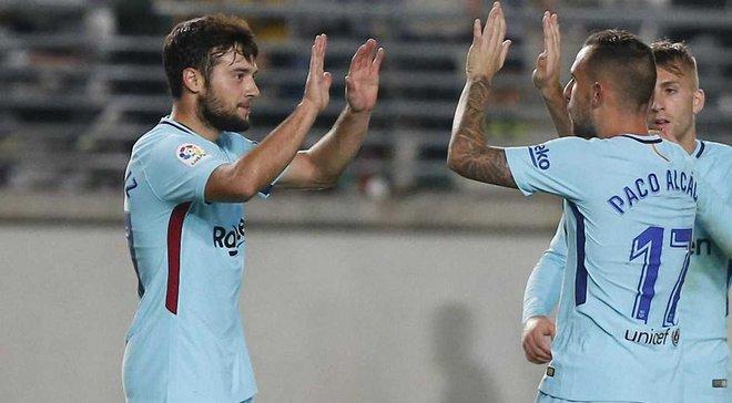 Арнаїс феєрично дебютував за Барселону в матчі Кубка Іспанії