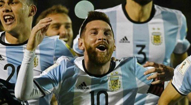 Аргентина хотіла більше 1 млн доларів за товариський матч з Україною, – FootballHub
