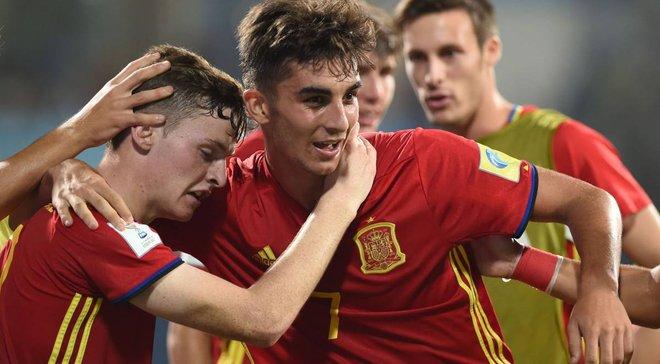 Испания обыграла Мали в полуфинале ЧМ-2017 U-17 – арбитр не заметил, как мяч пересек линию ворот после удара африканца
