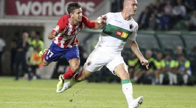 Кубок Іспанії, 1/16 фіналу: Атлетіко не зумів обіграти Ельче, Атлетік зіграв внічию з Форментерою