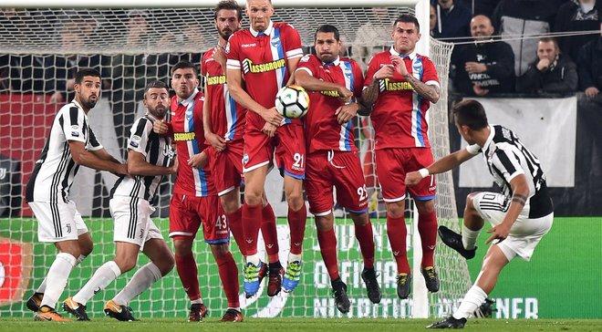 Милан крупно победил Кьево, Ювентус разбил СПАЛ