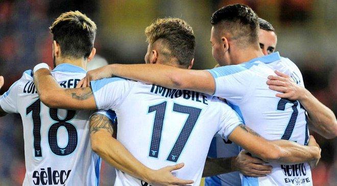 Игроки Лацио вышли в футболках с изображением Анны Франк на матч против Болоньи