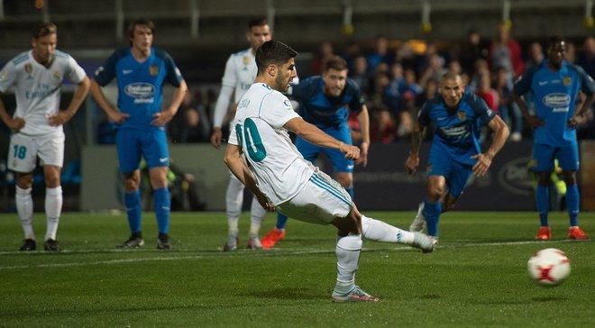 Реал здобув важку перемогу над Фуенлабрадою в Кубку Іспанії