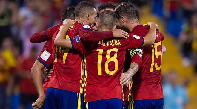 Форма сборной Испании на ЧМ-2018 – появились фото