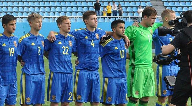 На тренировочный сбор молодежной сборной Украины вызвано 19 футболистов