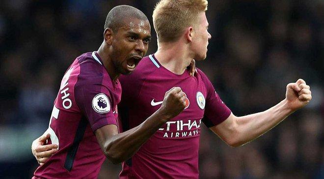 Манчестер Сити минимально победил Вест Бромвич, Арсенал одержал волевую победу над Суонси