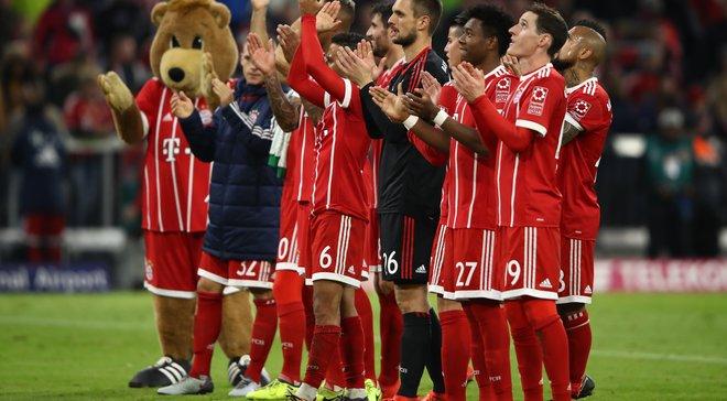 Бавария установила собственный рекорд по количеству беспроигрышных домашних матчей в Бундеслиге