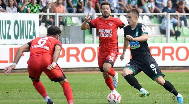 Коркішко забив 4-й гол за Гіресунспор