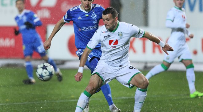 Динамо не победило Карпаты во Львове