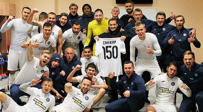 Санжар провел 150-й матч в качестве главного тренера Олимпика
