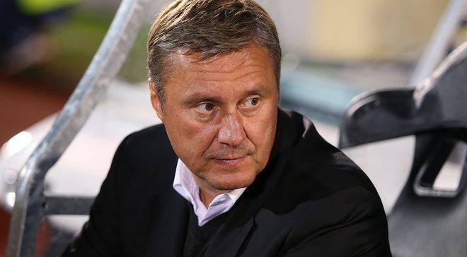 Хацкевич: Все наши результаты говорят о классе футболистов