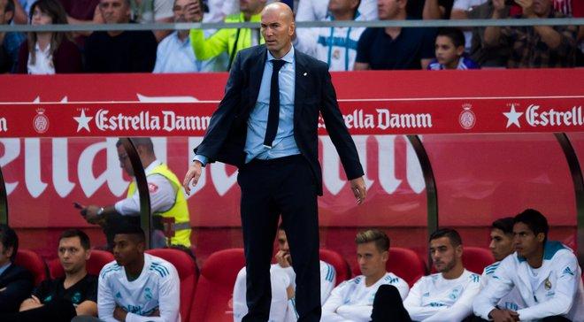 Зидан с удовольствием сфотографировался с обидчиком Реала Стуани после матча против Жироны