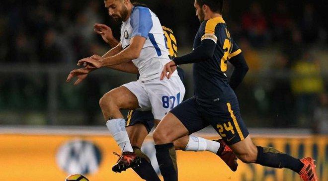 Интер в непростом поединке победил Верону
