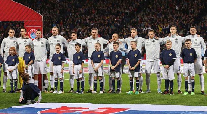 Словакия объявила заявку на матч против Украины