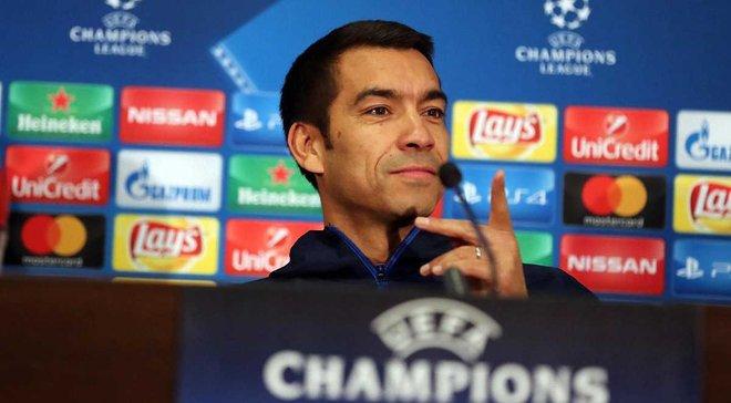 Ван Бронкхорст: Хотим побороться за выход в плей-офф Лиги Европы