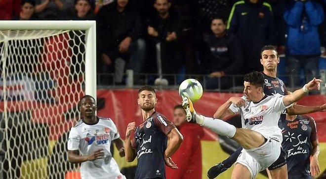 Монако знищив Генгам, Нант Раньєрі вийшов на 3-є місце, екс-карпатівець Авелар забив диво-гол
