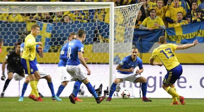 Швеція – Італія – 1:0 – Відео гола та огляд матчу