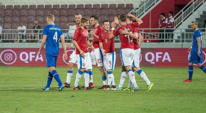 Чехія перемогла Ісландію в товариському матчі