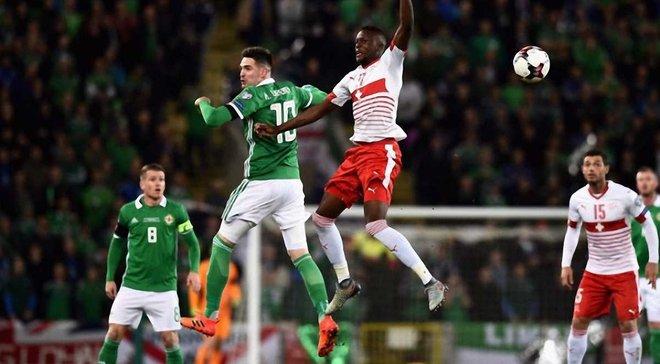 Швейцария в Белфасте минимально обыграла Северную Ирландию