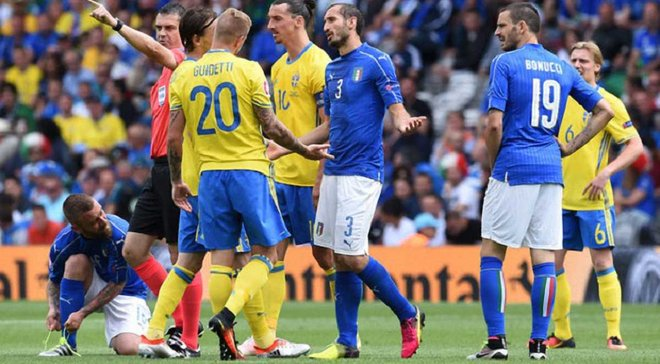 Швеция – Италия: анонс матча отбора к ЧМ-2018