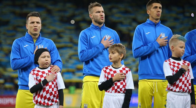 Україна – Словаччина: команди визначилися з кольором форми