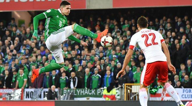 Северная Ирландия – Швейцария – 0:1 – Видео гола и обзор матча