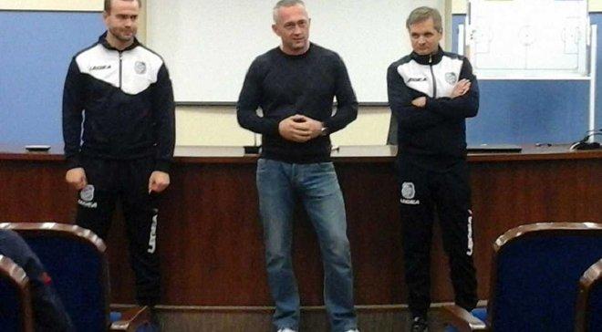 Фролов возглавил молодежную команду Черноморца