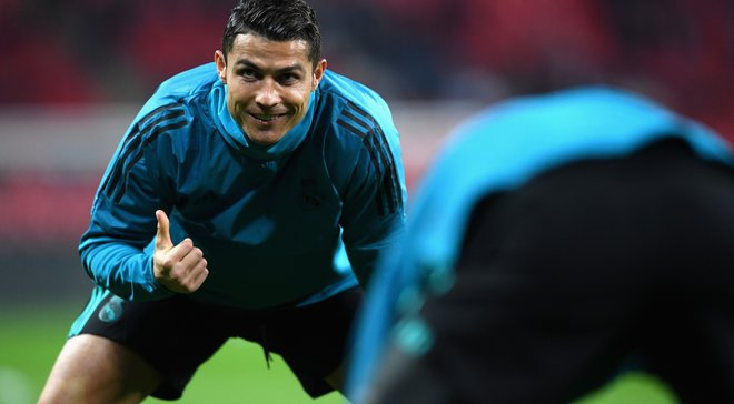 """Роналду привів """"особливого гостя"""" на тренування Реала"""