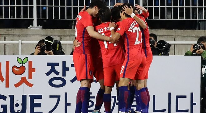 Товариські матчі: Південна Корея перемогла Колумбію, Сербія виграла у Китаю