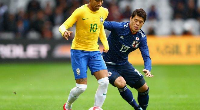 Бразилия уверенно обыграла Японию, Неймар не реализовал один из двух пенальти