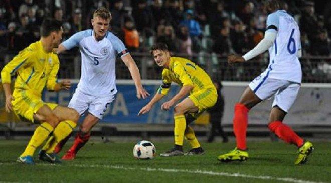 Украина U-21 уступила сверстникам из Англии в матче отбора на Евро-2019