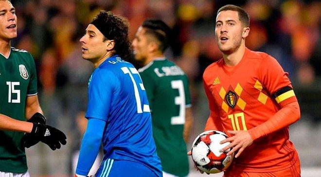 Товарищеские матчи: Бельгия и Мексика расписали феерическую ничью, Франция победила Уэльс