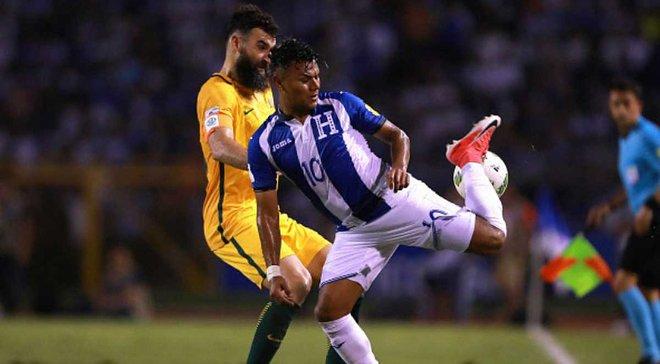 Плей-офф к ЧМ-2018: Гондурас и Австралия расписали ничью