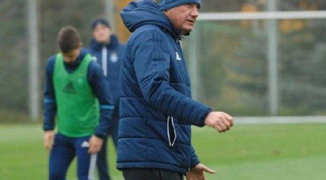 Хацкевич: У молодых игроков желания много, а вот мысли на футбольном поле хотелось бы побольше