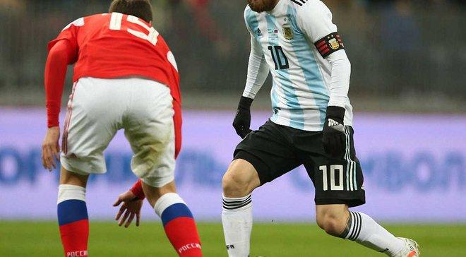 Росія – Аргентина – 0:1 – Відео гола та огляд матчу