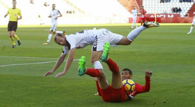 Зозуля забив 3-й гол і зробив асист за Альбасете, допомігши здобути важливу перемогу