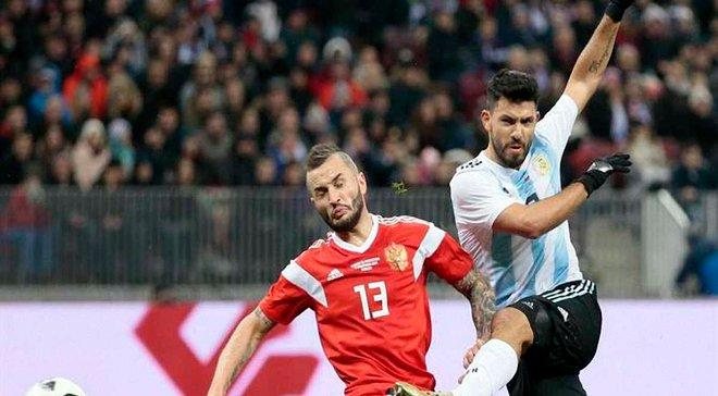 Агуеро вийшов на 3-є місце серед найкращих бомбардирів Аргентини, забивши гол Росії