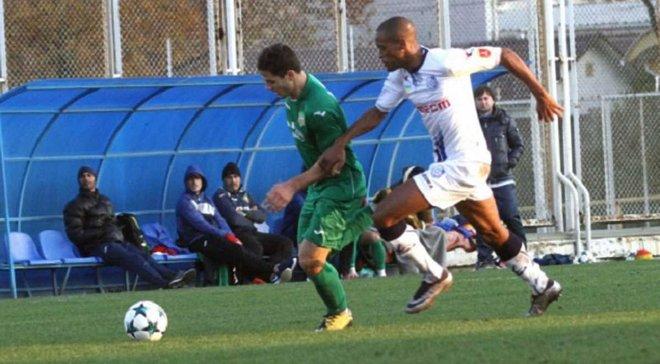 Черноморец победил Спикул в товарищеском матче