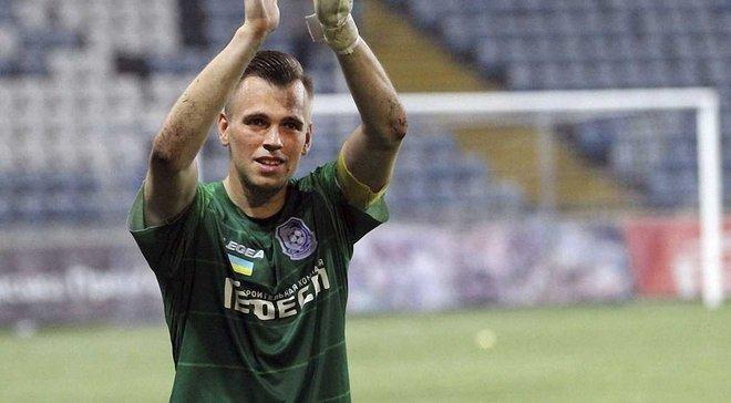 Голкіпер Чорноморця Гутор став першим за останні 18 років воротарем збірної Білорусі, який відбив пенальті