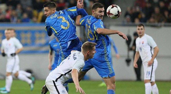 Защитник Словакии Скриняр: Сборная Украины проявила свои лучшие качества