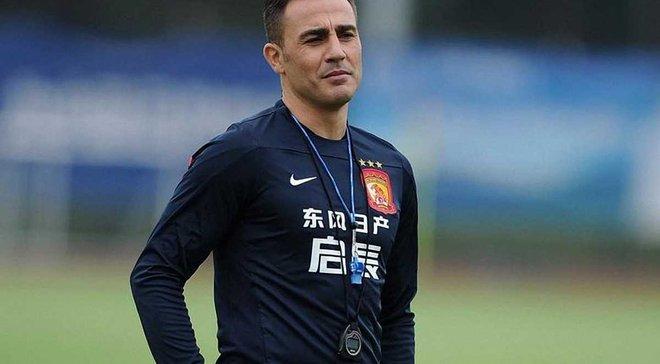 Каннаваро признан лучшим тренером чемпионата Китая-2017