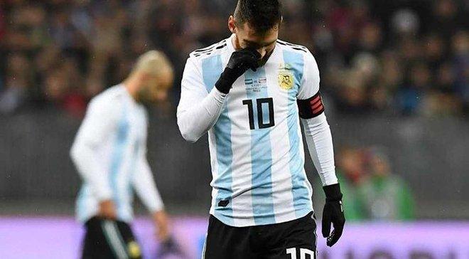 """Месси: Сборная Аргентины должна совершенствоваться, мне понравилось играть на """"Лужниках"""""""