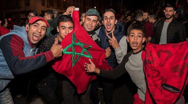 Болельщики сборной Марокко устроили беспорядки в Брюсселе – 22 полицейских пострадали