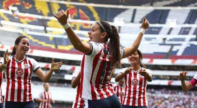 Футболистка Чиваса Норма Дуарте продемонстрировала, наверное, самое сексуальное празднование гола в истории