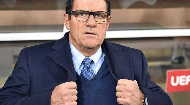 Капелло про те, що може очолити збірну Італії: Я вже закінчив з роботою в національних збірних